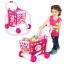 รถเข็นซุปเปอร์มาร์เก็ตพร้อมที่นั่งตุ๊กตา Kids Shopping 3-in-1 Cart (Blue) thumbnail 3