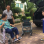 รถเข็นผู้ป่วย รถเข็นผู้สูงอายุ วีลเเชร์ MIKI รุ่น MOCC-43JL thumbnail 11