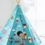 บ้านจำลองทรงเต๊นท์อินเดียนแดงสำหรับเด็ก LOOKA Tent (Around The World) thumbnail 5