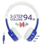 หูฟังควบคุมระดับเสียงสำหรับเด็ก BuddyPhones Volume-Limiting Headphones for Kids - InFlight (Blue) thumbnail 2