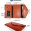 RFID Passport Holder Wallet (Brown) กระเป๋าพาสปอร์ตพร้อมกล่องพรีเมี่ยม (สีน้ำตาล) thumbnail 7