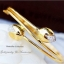 กำไลดอกบัวคู่หุ้มทองคำแท้ฝังเพชร cz รหัส INJ605 thumbnail 1