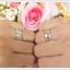 แหวนพลอยคู่รัก Feel good ฝังพลอยบุษราคัมแท้ thumbnail 6