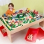 โต๊ะกิจกรรมเอนกประสงค์พร้อมชุดโมเดล KidKraft Waterfall Mountain Train Set & Table thumbnail 4