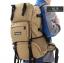 NL15 กระเป๋าเดินทางเสริมโครง สีกากี ขนาดจุสัมภาระ 42 ลิตร thumbnail 20