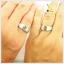 แหวนพลอยคู่รักFeel good พลอยเขียวส่องแท้ thumbnail 3