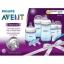ชุดขวดนมพร้อมอุปกรณ์ทำความสะอาด Philips AVENT Newborn Starter Gift Set - Natural (Blue) thumbnail 2
