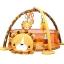 เพลย์ยิมพร้อมบ่อบอลสุดน่ารัก Konig Kids 3-in-1 Lion Activity Gym & Ball Pit thumbnail 1