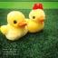ตุ๊กตาเป็ดเหลือง คู่รัก ขนยาวนุ่มสุดๆ (มีเสียง) ไซส์ 20 เซนฯ (ขนาดจริงสูง 25+25 เซนฯ ) thumbnail 1