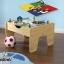 โต๊ะกิจกรรมสำหรับเลโก้พร้อมชุดรถไฟ Kidkraft 2-in-1 Activity Table with LEGO-Compatible Board and Train Set (Natural) thumbnail 4
