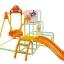 ชุดกิจกรรมปีนป่ายพร้อมชิงช้า Anpanman 4 Way Slide & Swing Jungle Gym thumbnail 2
