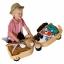 กระเป๋าเดินทางขับขี่ได้สำหรับเด็ก Skoot Children's Ride-On Suitcase (Classic Cream) thumbnail 4