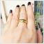 แหวนเขียวส่องแท้ 5 เม็ดเรียง สวมใส่ติดนิ้วได้ทุกโอกาส(สามารถสั่งทำได้ค่ะ) thumbnail 4