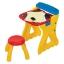 โต๊ะวาดเขียนเอนกประสงค์สำหรับเด็ก Crayola Play 'N Fold 2-in-1 Art Studio (Red & Yellow) thumbnail 7