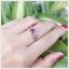 แหวนทับทิมแท้ เงินแท้ ชุบทองคำขาว thumbnail 5
