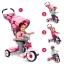 จักรยานสามล้อเอนกประสงค์ Radio Flyer 4-in-1 Stroll 'n Trike (Pink Floral - Limited Edition) thumbnail 2