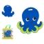 ยางกัดสุดหนึบปลอดสารพิษ SILLI CHEWS (Oillie Octopus) thumbnail 1