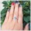 แหวนลอนดอนบลูโทแพซแท้ ดีไซน์เก๋ๆ ใส่เสริมเสน่ห์น่าหลงใหล thumbnail 4