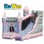 ปราสาทเจ้าหญิงกระโดดดึ๋งสุดอลังการ KidWise Enchanted Princess Castle with Slide Bounce House thumbnail 1