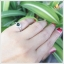 แหวนกรีนทัวร์มาลีนแท้ เงินแท้ ชุบทองคำขาว thumbnail 5