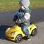 รถซุปเปอร์คาร์ขาไถลิขสิทธิ์แท้ของรถยนต์ Porsche รุ่น Porsche 911 Turbo Push Car - Yellow thumbnail 5