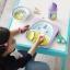 ชุดช้อนและส้อมสำหรับเด็กสุดน่ารัก Skip Hop รุ่น Zootensils Little Kids Fork & Spoon (Unicorn) thumbnail 3