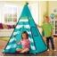 กระโจมอินเดียนแดงแสนคลาสสิค Discovery Kids Adventure Play TeePee Tent (Turquoise) thumbnail 5