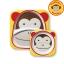 จานและชามบรรจุอาหารสุดน่ารัก Skip Hop รุ่น Zoo Melamine Set (Monkey) thumbnail 1