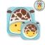 จานและชามบรรจุอาหารสุดน่ารัก Skip Hop รุ่น Zoo Melamine Set (Giraffe) thumbnail 1