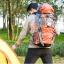 NL13 กระเป๋าเดินทาง สีเขียว ขนาด 55+5 ลิตร (เสริมโครง) thumbnail 20