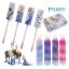 ชุดลิปกลอสปลอดสารพิษพร้อมกล่องบรรจุ Townleygirl 4-Pack Swirly Lip Gloss with Bonus Tin (Olaf's Frozen Adventure) thumbnail 6
