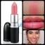 MAC Cremesheen Lipstick 3g # Sunny Seoul โทนชมพูพีชประกาย ช่วยให้ริมฝีปากน่ามองยิ่งขึ้น