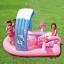 สระน้ำเป่าลมพร้อมสไลเดอร์และน้ำพุ Intex Hello Kitty Play Center thumbnail 4