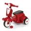 รถจักรยานสามล้อทรงเวสป้า Radio Flyer Classic Lights & Sounds Trike (Red) thumbnail 1
