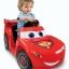 รถแบตเตอรี่สุดน่ารักสำหรับเด็กเล็ก Fisher-Price Power Wheels Disney Cars2 Lil' Lightning McQueen 6V thumbnail 1