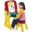 โต๊ะวาดเขียนเอนกประสงค์สำหรับเด็ก Crayola Play 'N Fold 2-in-1 Art Studio (Red & Yellow) thumbnail 2