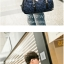 TR02 กระเป๋าทรงกระบอก แคนวาส สีน้ำตาล thumbnail 6