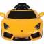 รถแบตเตอรี่พร้อมรีโมทบังคับ Lamborghini Aventador LP700 6V Battery-Powered Ride-On (Yellow) thumbnail 2