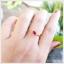 แหวนทับทิมไทย สวยเก๋ น่ารักๆ ใส่เพิ่มเสน่ห์น่าหลงใหล(สามารถสั่งทำได้ค่ะ) thumbnail 6
