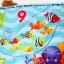 หนังสือผ้าเสริมพัฒนาการจาก Fisher-Price รุ่น Precious Planet Baby Animals Counting Book thumbnail 7
