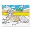 แผ่นภาพระบายสีมหัศจรรย์ Melissa & Doug รุ่น Magic Pattern Marker Coloring Pad (Blue) thumbnail 3