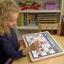 แผ่นกระดานปฏิทินแม่เหล็ก Melissa & Doug Monthly Magnetic Calendar thumbnail 3
