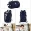 TR02 กระเป๋าทรงกระบอก แคนวาส สีน้ำตาล thumbnail 3