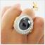 แหวนนิลแท้ เงินแท้ ชุบทองคำขาว thumbnail 6