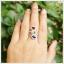 แหวนพลอยแท้ 3 สี อเมทิสต์ เพริดอต โกเมน ใส่ติดนิ้วเก๋ๆ thumbnail 4