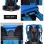 DF07 กระเป๋าเดินทาง สีน้ำเงิน ขนาด 50 ลิตร (เสริมโครง) thumbnail 11