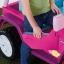 รถจี๊ปบาร์บี้พลังแรงสูงแบบ 2 ที่นั่งสำหรับลูกสาว Fisher-Price รุ่น Power Wheels Barbie Jammin' Jeep Wrangler 12-Volt Battery Powered Ride-On (Pink) thumbnail 7