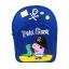 กระเป๋าสะพายเป้สำหรับเด็ก Peppa Pig Pirate George & Mr. Dinosaur Backpack for Kids thumbnail 2