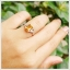 แหวนซิทรินแท้ ทรงสี่เหลี่ยม เงินแท้ชุบทองคำขาว thumbnail 5