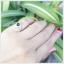 แหวนกรีนทัวร์มาลีนแท้ เงินแท้ ชุบทองคำขาว thumbnail 6